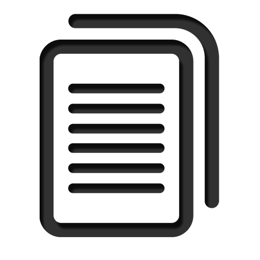 12 Text Document Icon Black Images