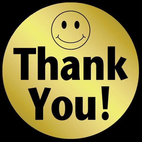 Thank You Smiley-Face