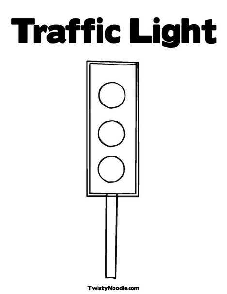 7 Traffic Light Template Images