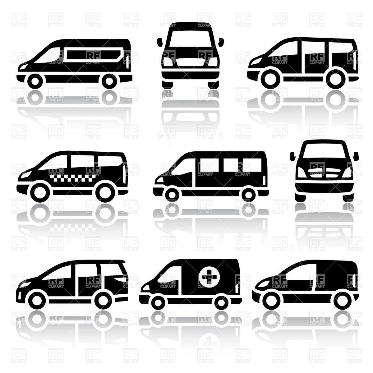 Transportation Van Clip Art Free
