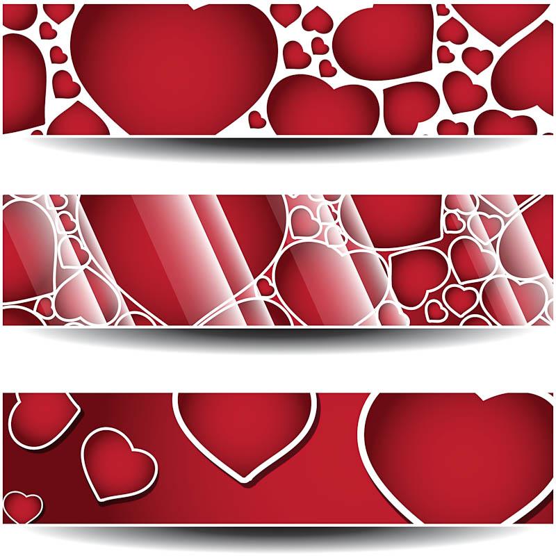 Valentine's Day Banner Clip Art