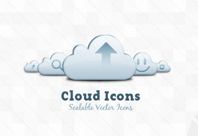 14 Cloud Services Icon Vector Images