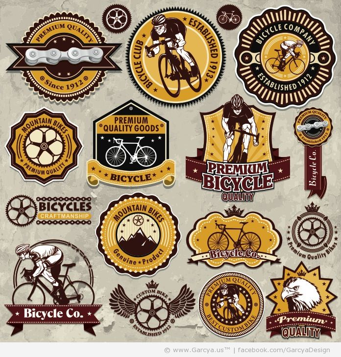 Vintage Bicycle Logos