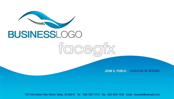 Visiting Card Design PSD