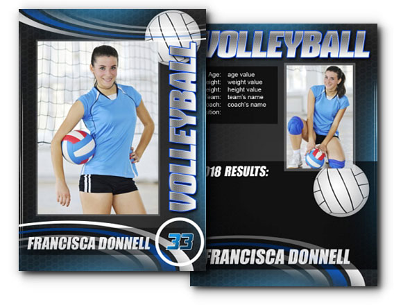 7 Trading Card Templates Psd Images