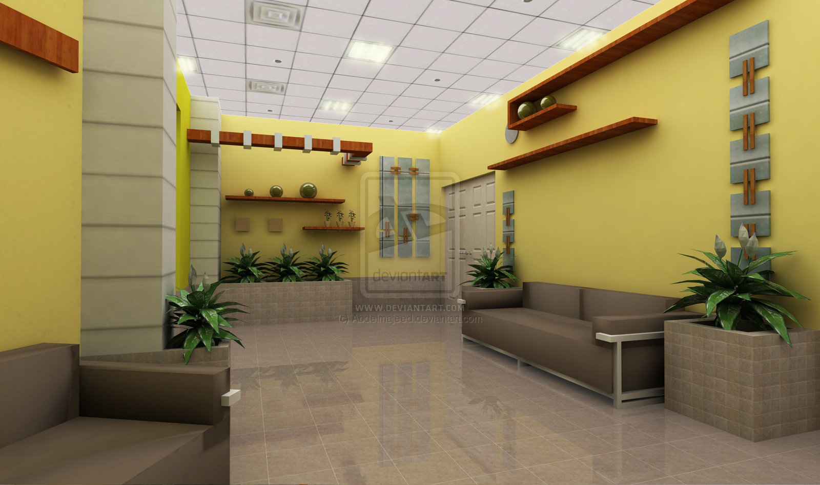 Waiting Area Design Ideas