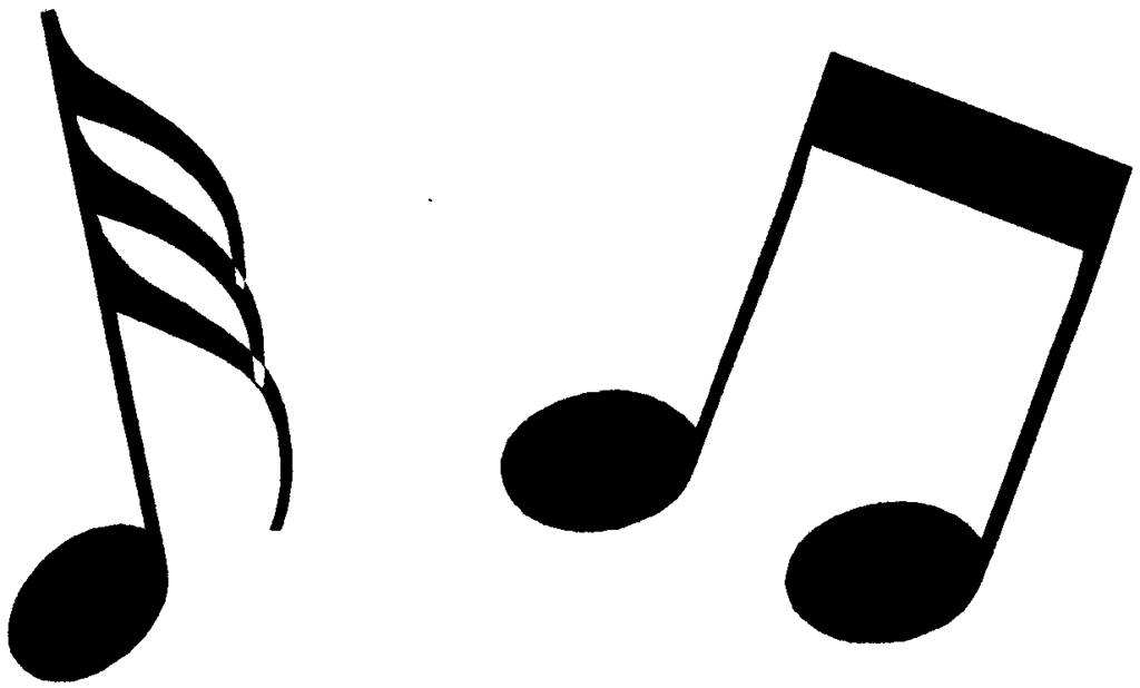 16 Music Notes Clip Art Graphics Images