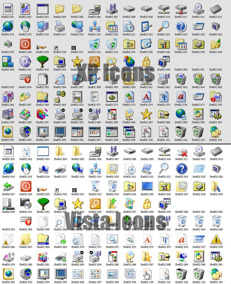 13 Find Icons In Windows XP Images