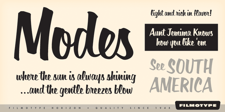 1950s Font Styles