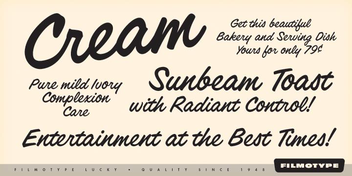 1950s Font