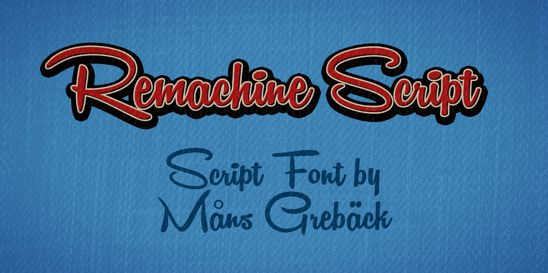 1950s Retro Script Font
