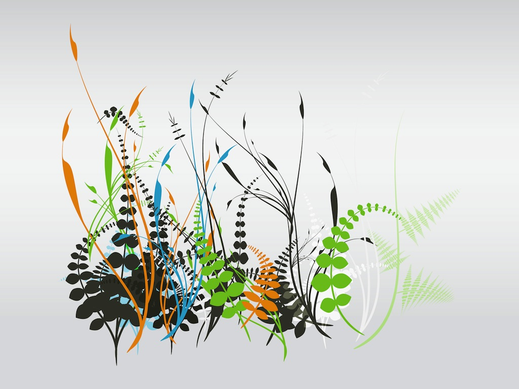 Abstract Plant Vector