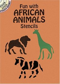 African Animal Stencils