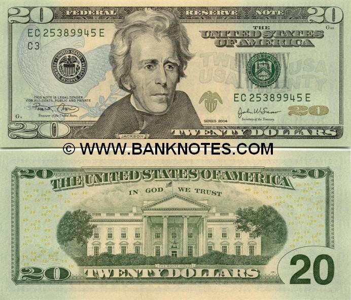Andrew Jackson Money