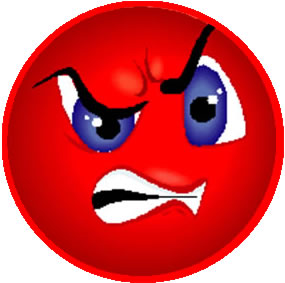 7 Angry Animated Emoticons Images