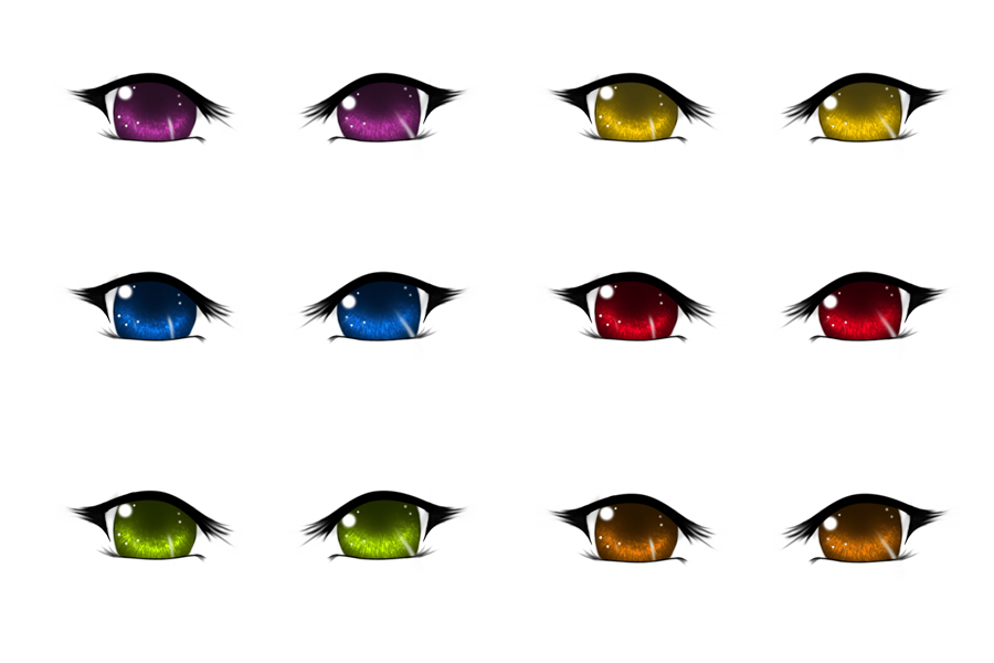 13 PSD Cartoon Eyes Images