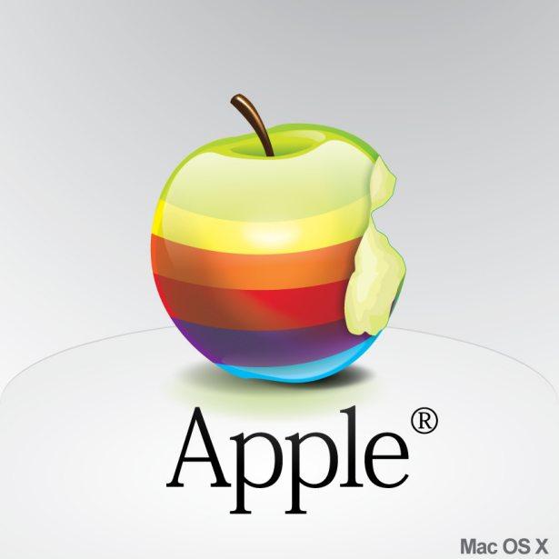 Apple Rainbow Icon