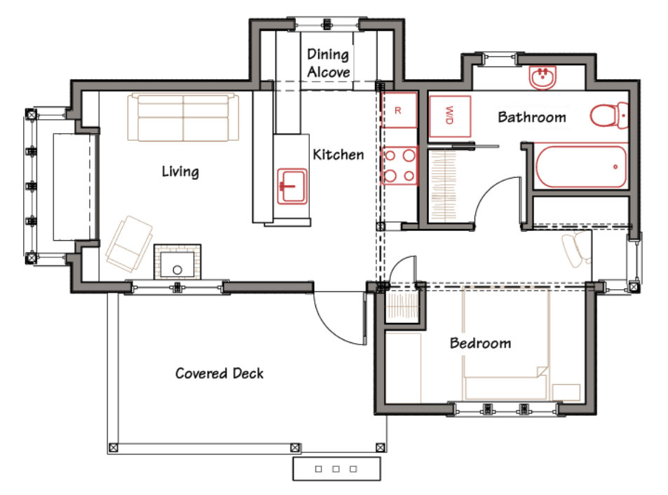 Architectural Small House Plans