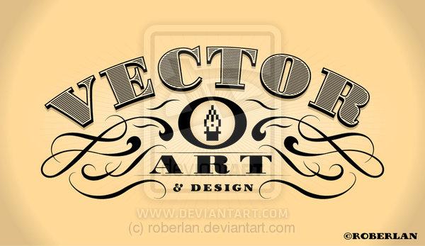 9 Vintage Lettering Vector Images