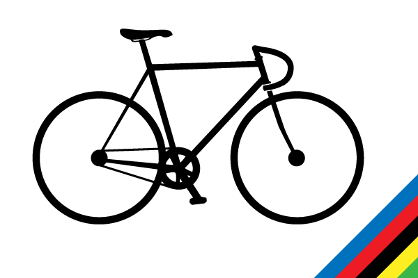 18 Bike Silhouette Vector Images
