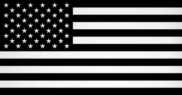 11 Black American Flag Vector Images