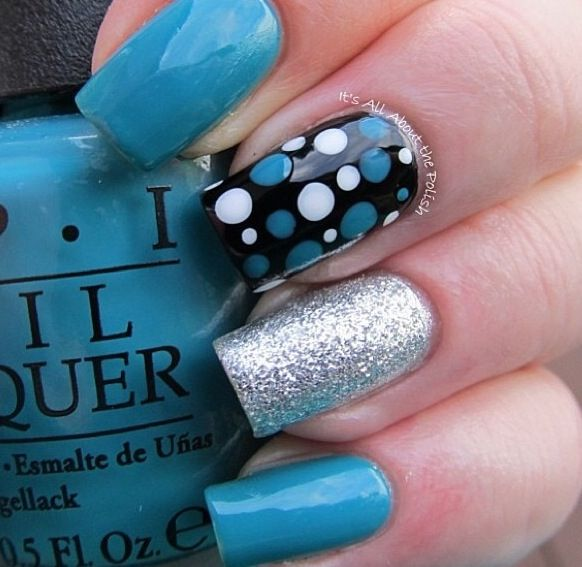 Nail Art Designs Black And Blue Dark - Blue And Black Nail Designs Best Nail  Designs - Blue And Black Nail Designs Graham Reid