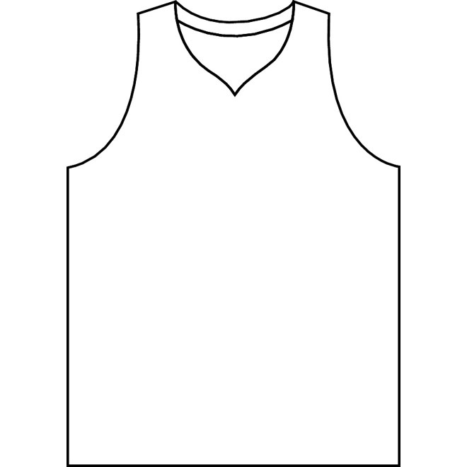 14 Basketball Jersey Template Vector Images