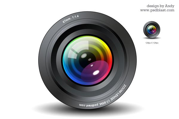 Camera Lens Icon