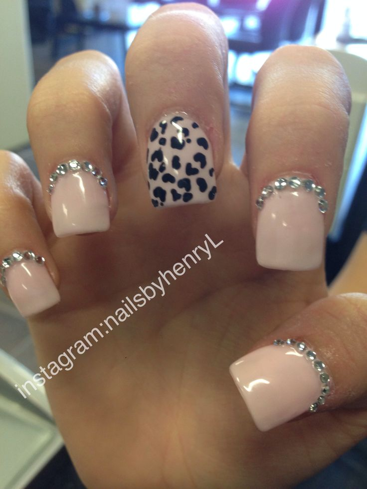 13 Cheetah Print Nail Designs Images