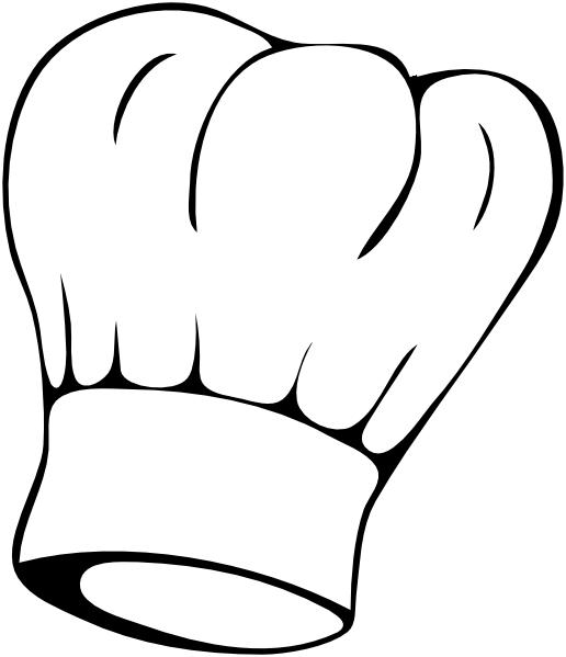 13 Chefs Hat Vector Clip Art Images