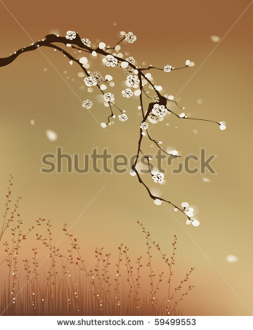 13 Vector Cherry Blossom Wind Images