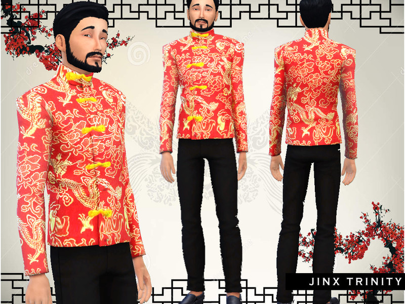 Chinese Tang Suit