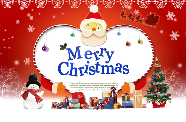 Christmas PSD Files Free Download