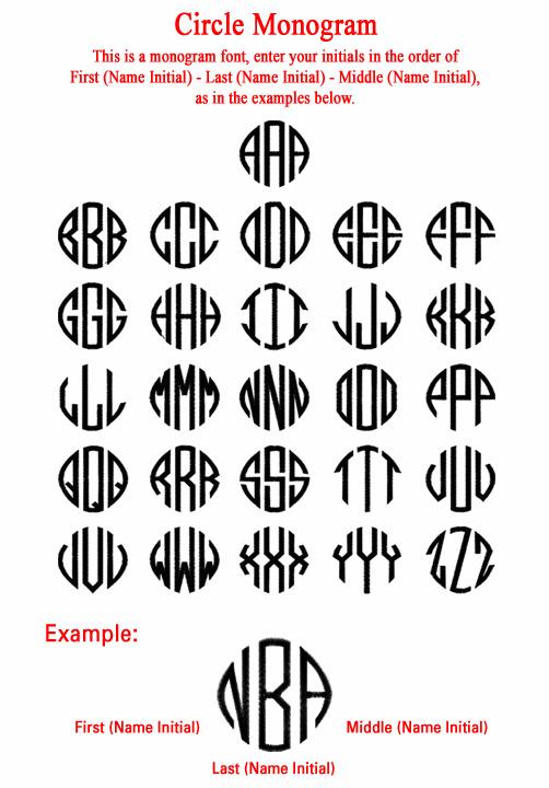 11 Free Monogram Font Downloads Images