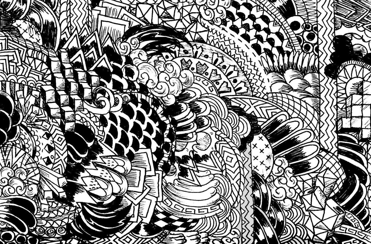 10 Cool Designs Patterns Black And White Images