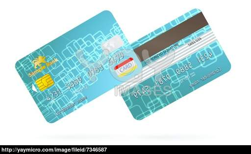 Credit Card Front and Back