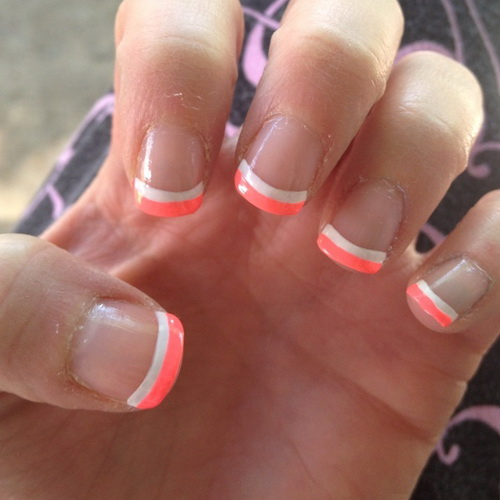 11 Cute French Nail Designs Images