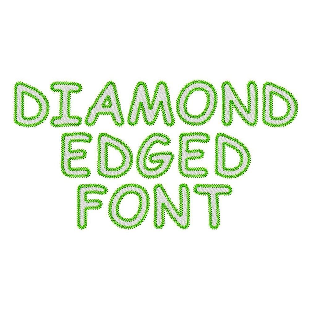 5 Diamond V Font Images