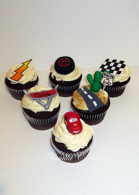 Disney Cars Cupcakes
