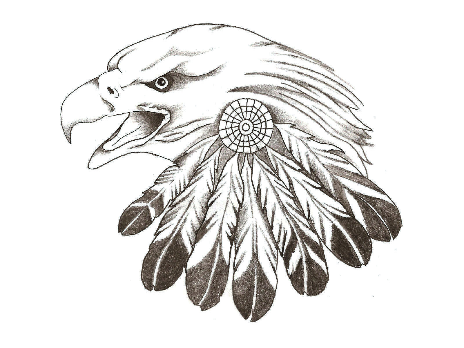 9 Eagle Stencil Designs Images