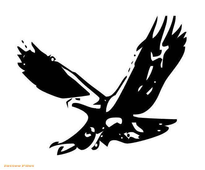 9 Eagle Stencil Designs Images - Eagle Feather Tattoo