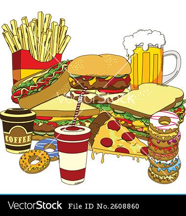 Fast Food Vector