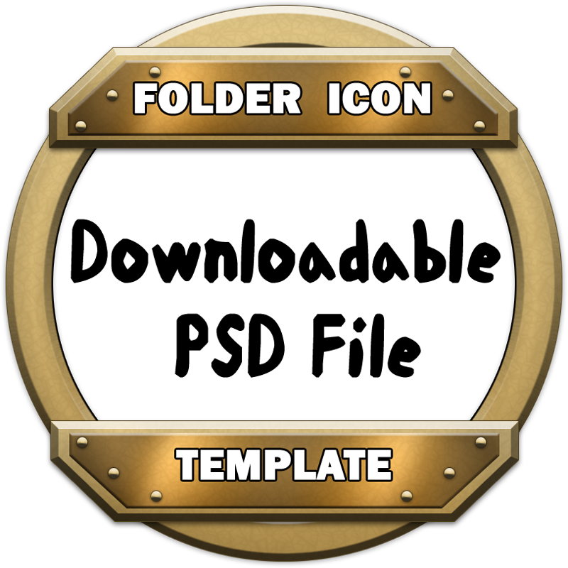 how to make a folder icon file