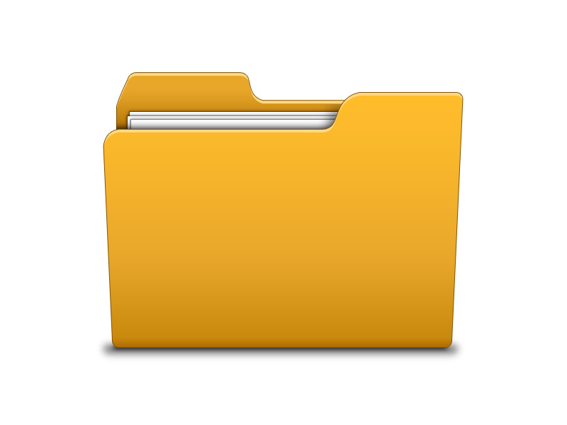 19 Folders Icon PSD Images