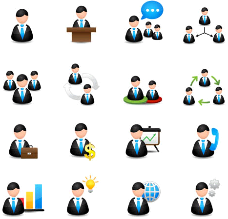 Free Business Person Icon