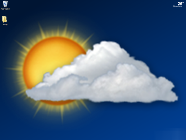 14 Weather Icon For Desktop For Windows 7 Images
