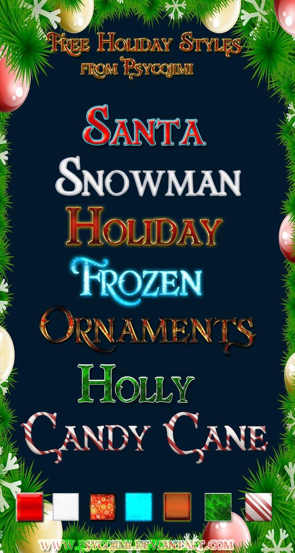 Free Happy Holidays Text