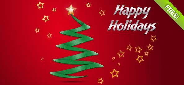 Free Holiday Greeting Card Templates