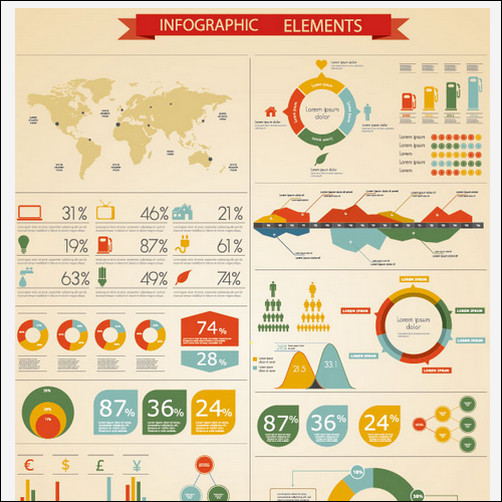 15 Free Infographic Template Photoshop Images