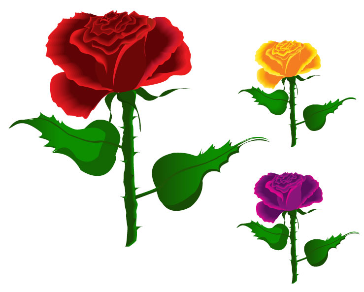 Free Rose Vector